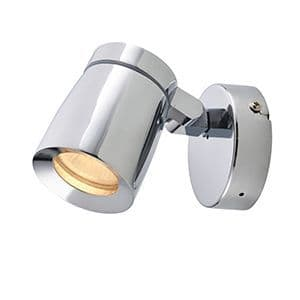Saxby Knight  1lt Plate IP44 35w 39166 By Massive Lighting